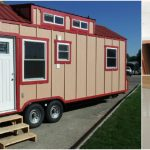 Tiny House on Wheels Has a Secret Inside! Come See What it is! {14 Photos House Tour}