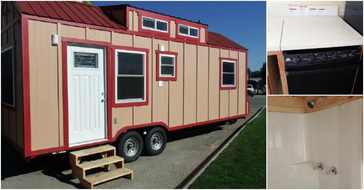 Tiny Home Designs: Tiny House On Wheels Has A Secret Inside! Come See What It