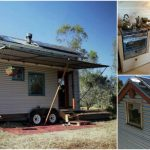 Beautifully Designed Tiny House Includes a Handmade Wood Stove {12 Photos}