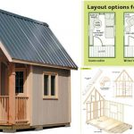 Completely Free 108 Sq. Ft. Cottage Wood Cabin Plans