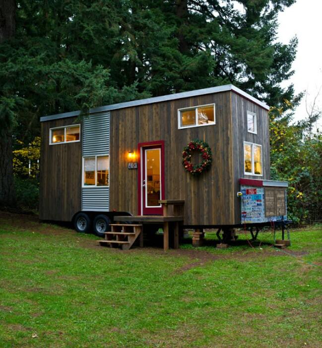 Empty Nester Builds Her Dream Tiny House {Tiny Home Tour}