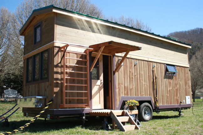 Young Couples 330 Sq Ft Tiny House Was Designed with FitNest
