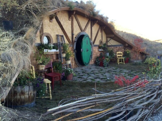 Hobbit House Tour
