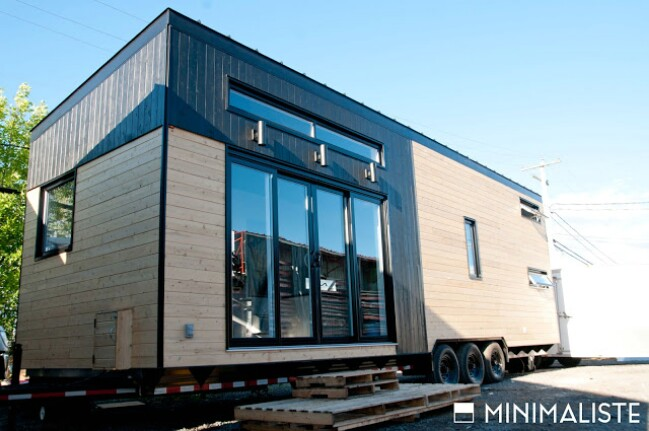 Le chene tiny house combines luxury and minimalistic for Tiny house minimalist