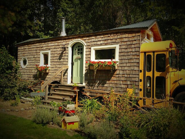You'll Love this Yellow School Bus Turned into an Incredible Tiny House - Tiny Houses