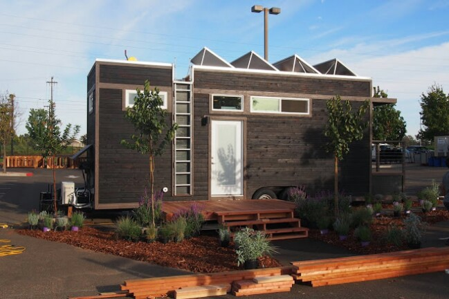 Tactical Tiny House Built by Consumnes River Collage