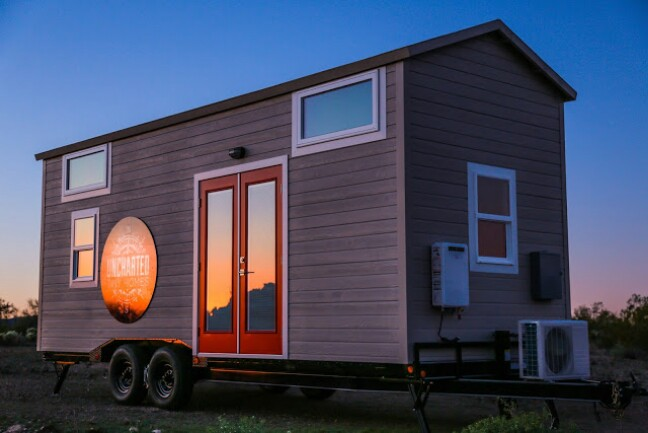 How do you fit a mansion in 270 square feet come see for for Tiny house mansion