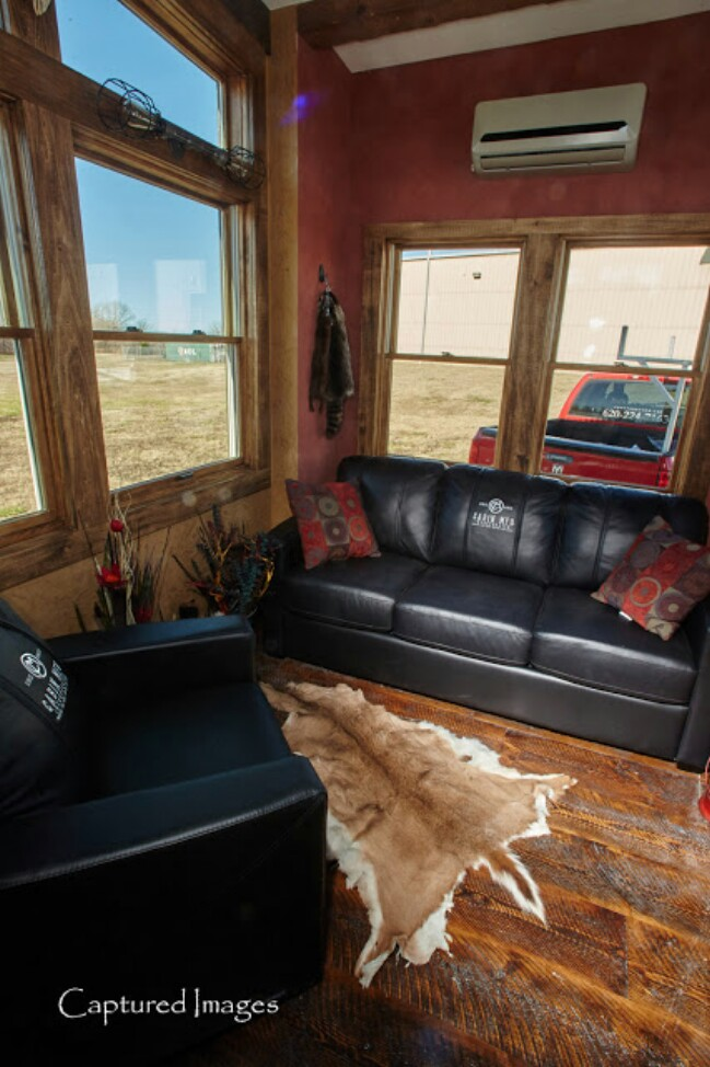 The Manliest Tiny House Called the Bushwhacker is Up for Grabs! {14 Photos}