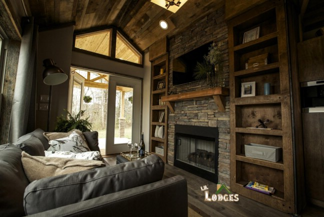 Smart Cabin by Lil Lodges is a 400 Square Foot Dream Vacation Home