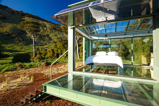 Marvelous Tiny House Vacation Spend The Night In A Glass Tiny House Best Image Libraries Weasiibadanjobscom