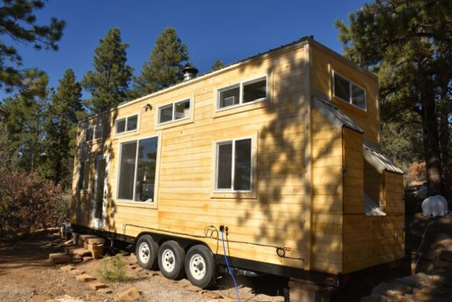 Tiny House by Upper Valley Tiny Homes is a Ray of Sunshine and It's for Sale!