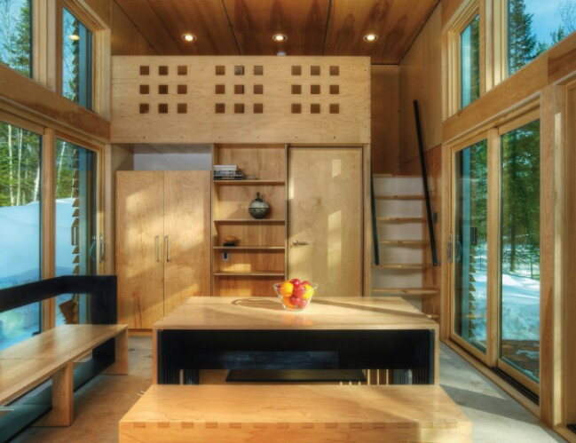 Probably the Most Innovative and Private Tiny House Ever! Take a Look!