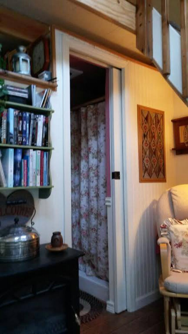 Aging Woman Turns 192 Sq. Ft. Shed into Future Tiny Home