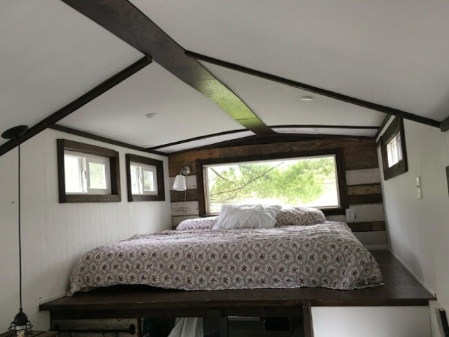 This 299 Square Foot Unique Tiny House Could Be Yours!