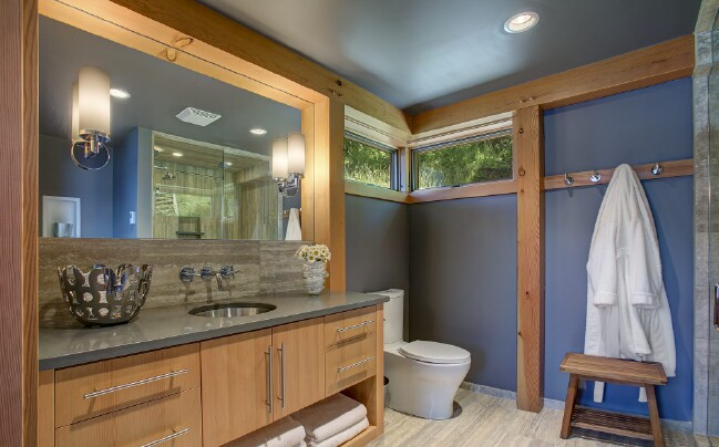 This prefab tiny house is designed with accessibility and for Handicap accessible tiny house