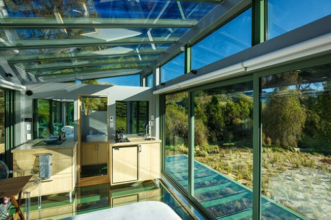Tiny House Vacation Spend the Night in a Glass Tiny House in New