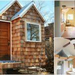 Uniquer Cedar Shake Covered Tiny House From Colorado {Tiny House Tour}