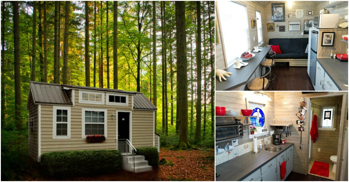 Retire And Travel The World In This One Story Tiny House