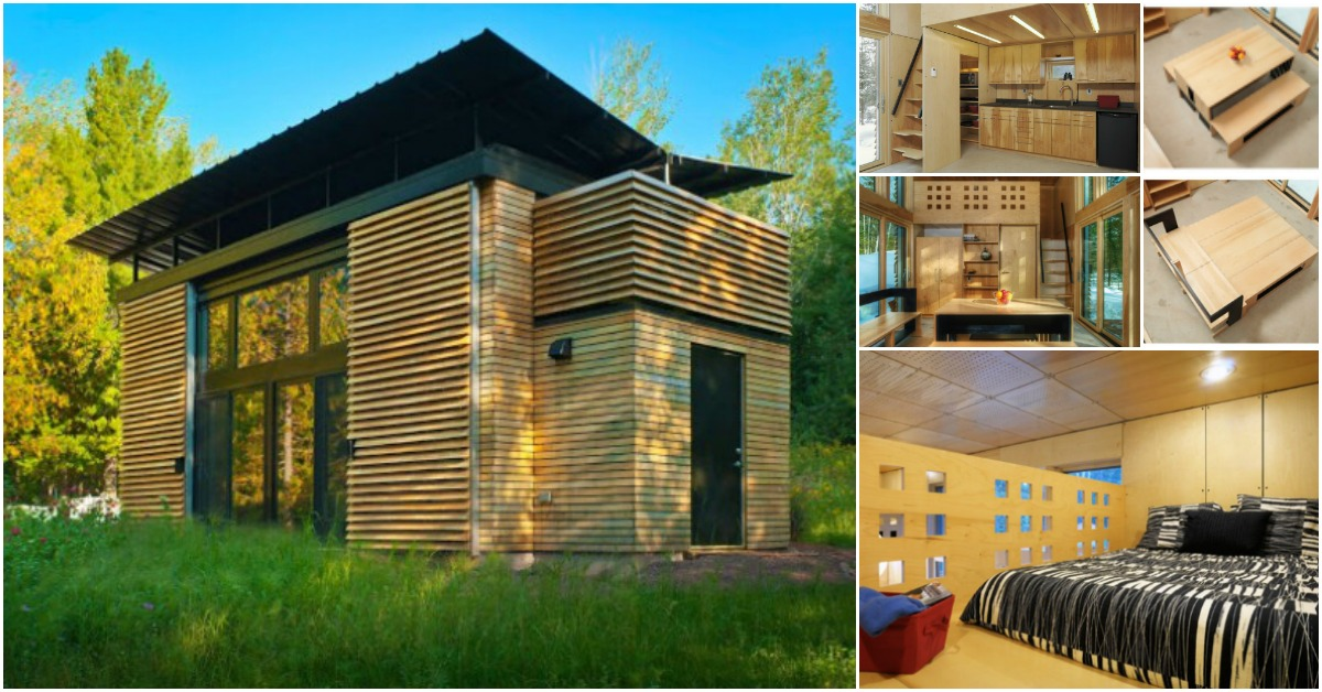 Probably The Most Innovative And Private Tiny House Ever Take A Look Tiny Houses