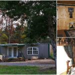 Oklahoma Man Makes Off-Grid Retreat from Shipping Containers