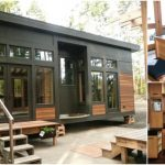 Modern 450 Sq. Ft. Prefab Tiny Home by GreenPod Development in Washington
