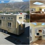 310 Square Foot Tiny House by Upper Valley Tiny Homes is a Ray of Sunshine