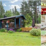 """This 570sf """"Tiny"""" House Takes its Cues from the 50's and Adds Modern Flair"""