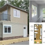 This Modular Tiny House Can Be Delivered to You Fully Assembled! {Free Floor Plans}