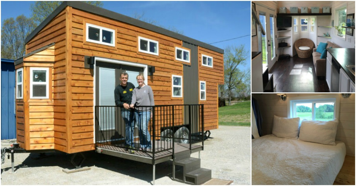 "Tiny Home Designs: ""Tiny House Hunters"" Fans Build Their Own 280 Sq. Ft. Tiny"