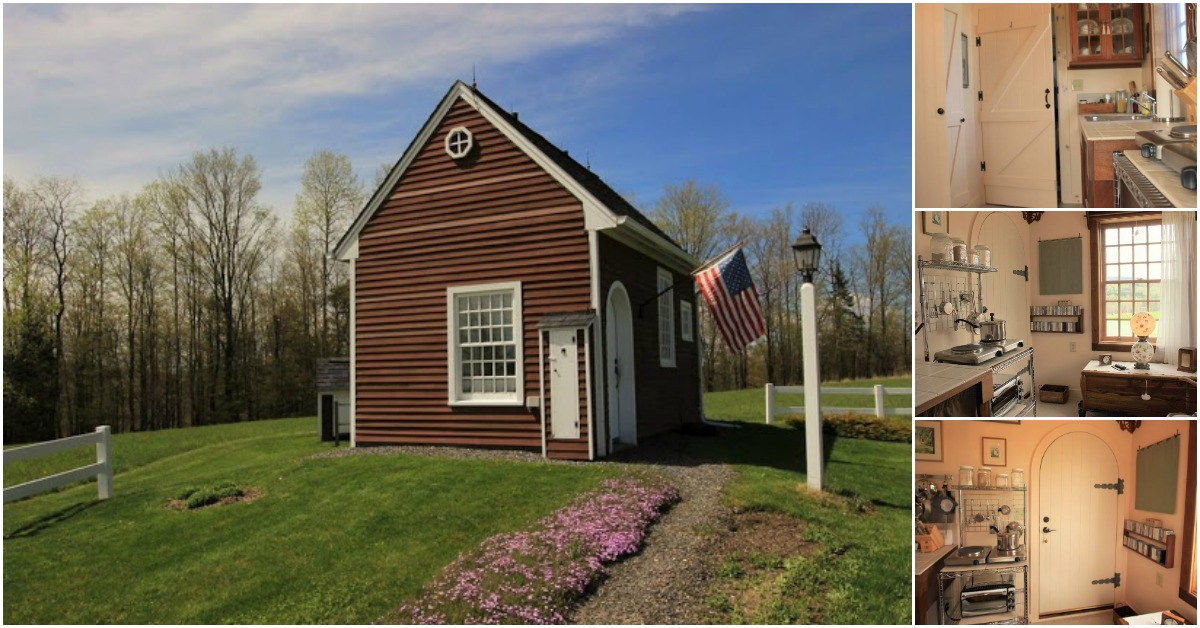 Tiny House On 10 Acres In Gorgeous Vermont Could Be Yours