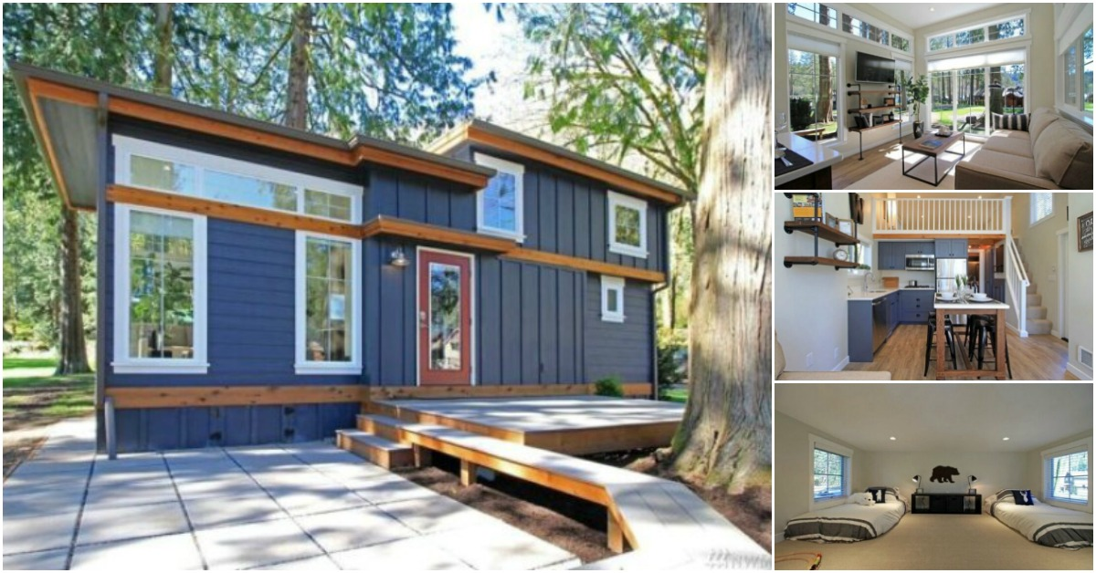 Experience The Lake Life In A Luxurious Tiny House By