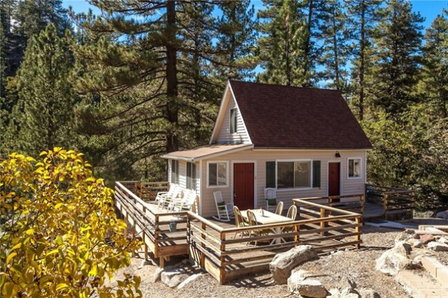 536sf gorgeous tiny house in big bear california for sale for Big bear cabins california