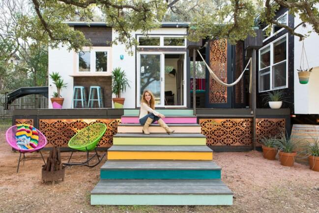 Kim Lewis Tiny House