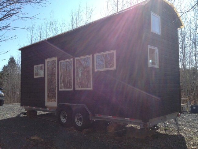Nova Scotia Tiny House Builders Design 24ft Wooden