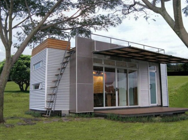Beautifully Upcycled Shipping Container Tiny House by Cubica