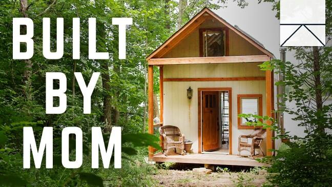 Single mom diy tiny house