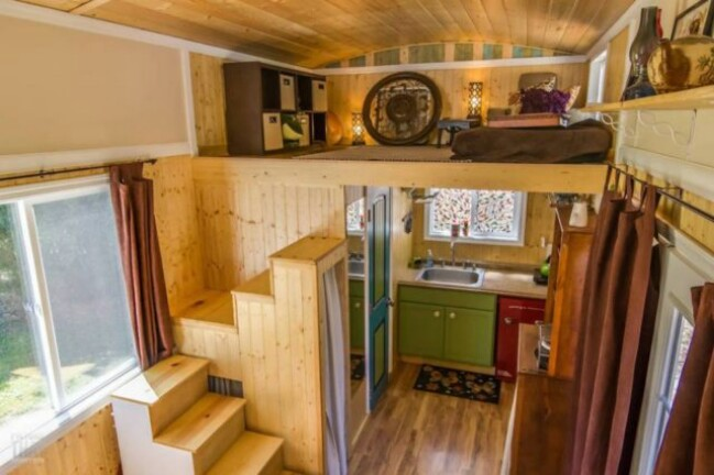 Oregon city woman designs completely customized dream tiny Small houses oregon