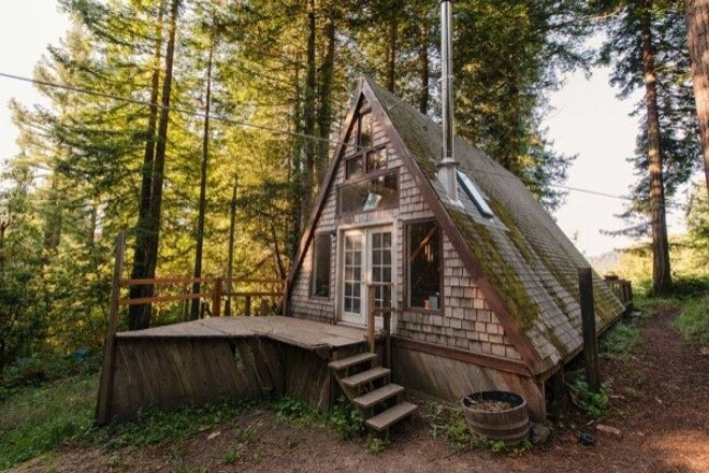 A-Frame Tiny House