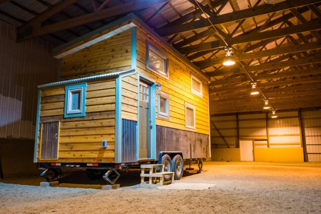 Blue Moon custom tiny house