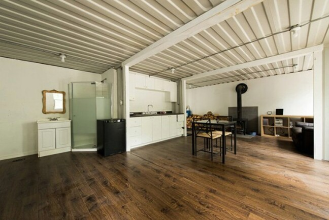 Shipping Containers Tiny Home