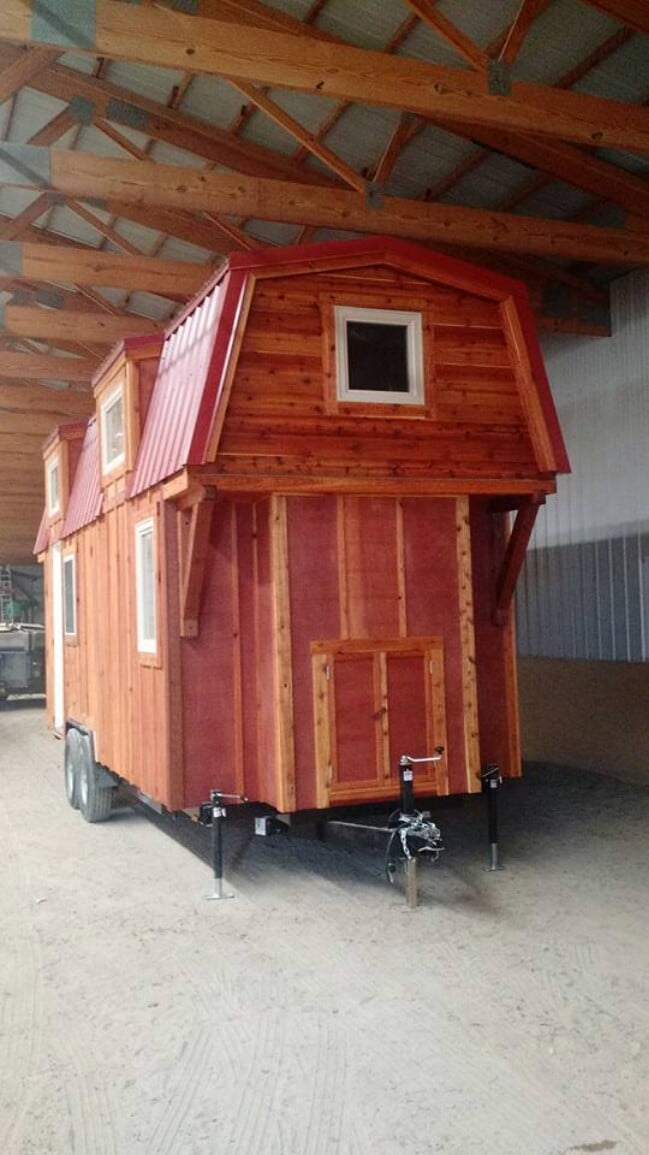 This Mitchcraft Tiny House Looks Like A Shed But Is Made