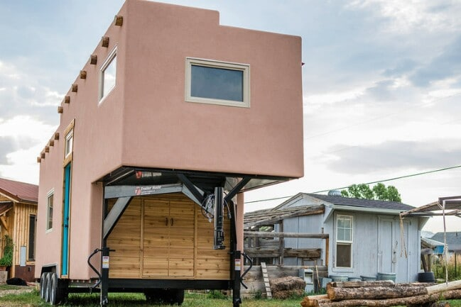 This tiny house was built in colorado but belongs in the for Tiny house company colorado