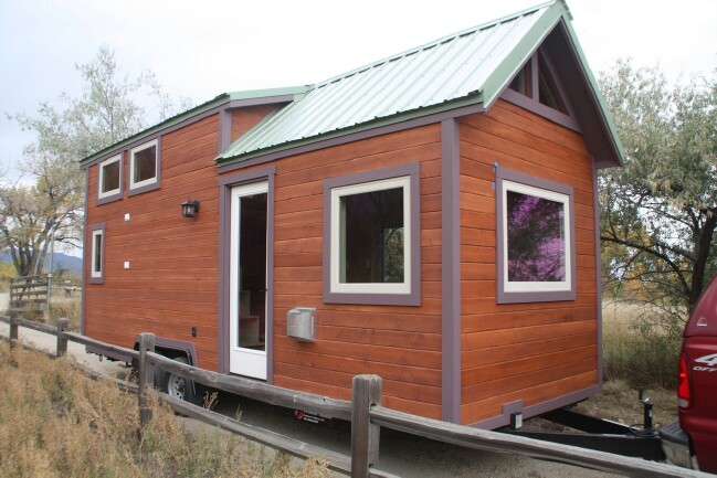 Beautiful Tiny House in Colorado from SimBLISSity Builders