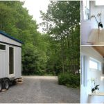 The Birdhouse by Full Moon Builders is A Simplistic Mobile Tiny House