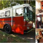 From a Thomas Built Bus to 293sf Tiny House! {Tiny House Tour}