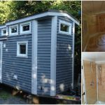 This 28ft Tiny House is Pretty and Practical with Tons of Charm and Storage