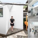 Woman Returns To The Suburbs of Beijing and Designs Her Own Tiny House