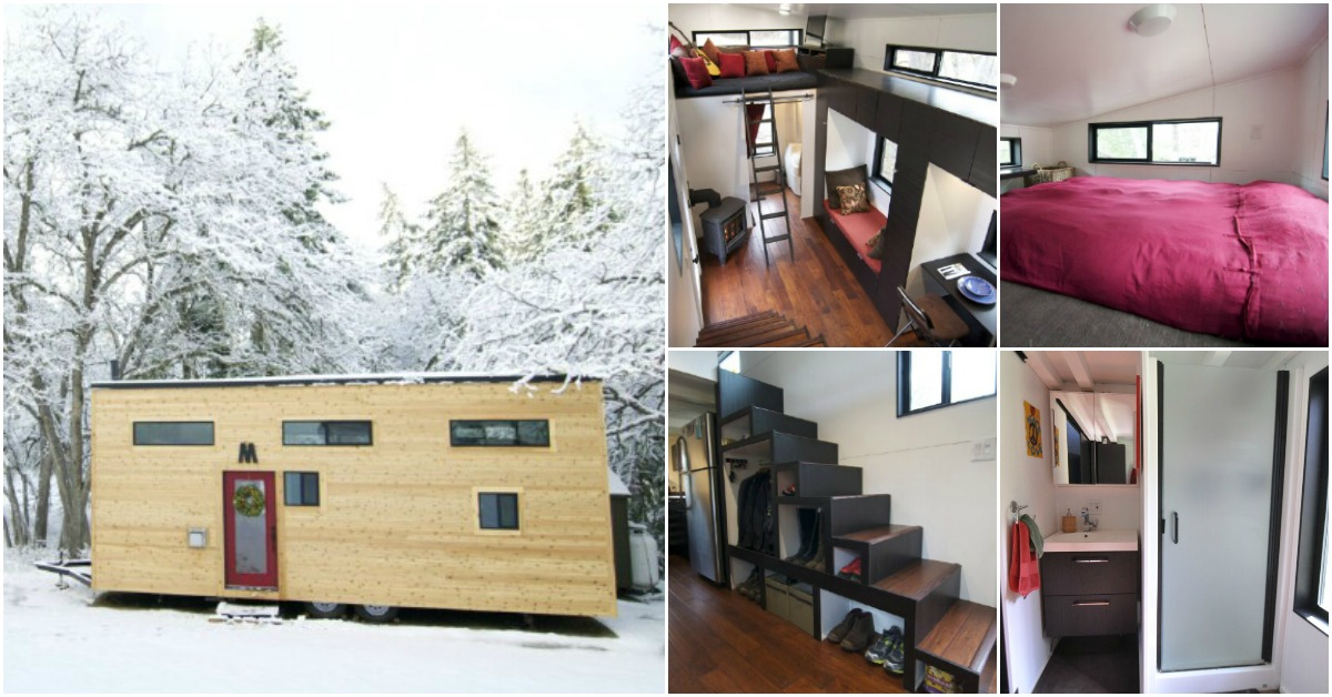 Tiny Home Designs: Couple Build Their Dream Tiny Home And Teach Others How To