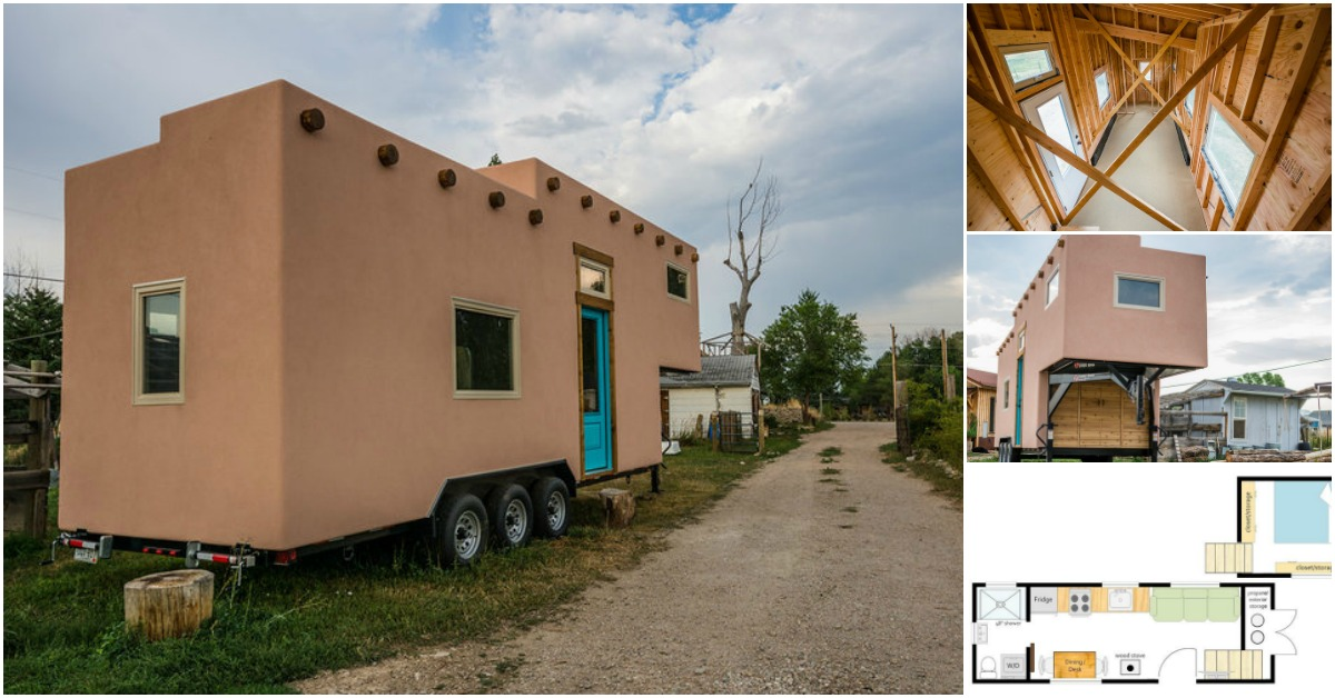 This tiny house was built in colorado but belongs in the for Building a home in colorado