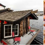 Asian Inspired Houseboat for Sale at Seattle Harbor
